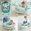 Baby Bathtub+ Bath Mat - GREEN (Large Size)