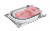Baby Bathtub grey + Bath Mat - PINK(Large Size) (TR)