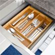 Bamboo 5-cell storage box