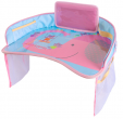 Car Portable table for children - pink elephant