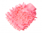 Car washcleaning glove - bright pink