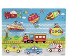 Children's puzzle - vehicles