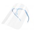 Face mask shield - glasses holder