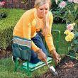 Folding garden stool/kneeler