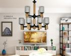 Forza Wooden Nordic Style Lighting - GY-D6066/4+8