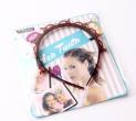 Hair hoop - coffe brown (OPP bag)
