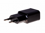 HF-26 - Adapter charger USB HEDO Qualcomm Quick Charge 3.0 2A - black