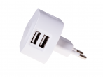 HF-29 - Adapter charger USB HEDO 2xUSB 3.4A - white