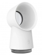 HL 3 in 1 Mini Bladeless Fan Office Fan Air Humidifier with LED Light White