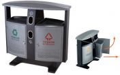 Outdoor Dust Bins / Trash cans - C2