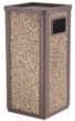 Outdoor Dust Bins / Trash cans - F3