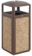 Outdoor Dust Bins / Trash cans - F6